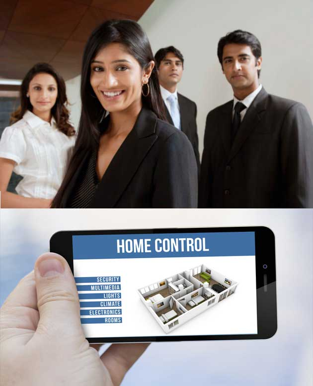 Home Control Security System